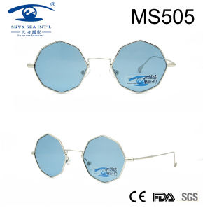 Occhiali da sole popolari del metallo delle donne di disegno più speciale (MS505)
