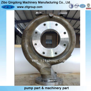 Alloggiamento della pompa dell'acciaio inossidabile di Goulds 3196 del pezzo fuso di sabbia