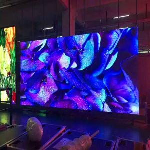 Long de la publicité à l'intérieur Lifespam LED écran affichage LED P10