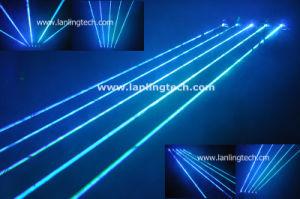 5 глав государств Движения головы Fat-Beam голубой лазер шторки/лазерный Net