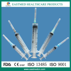 의학 처분할 수 있는 주사통 처분할 수 있는 Syringemedical 주사통 Luer 자물쇠 바늘 주사통