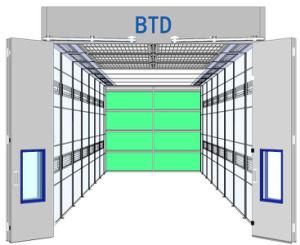 Großer LKW-Bus-Spritzlackierverfahren-Stand