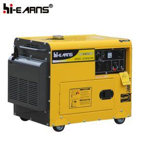 Het lucht Gekoelde Diesel Draagbare Model van de Generator (DG6500SE)