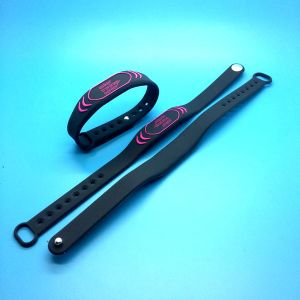 Безналичной оплаты POS считывателем MIFARE DESFire EV1 2K RFID силиконовые браслеты браслет