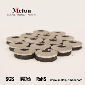 Rondelles d'étanchéité EPDM en néoprène cautionné l'acier inoxydable