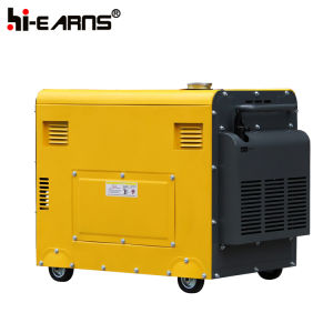 ATS 5 квт мощности двигателя дизельного генератора (DG6500SE+ATS)