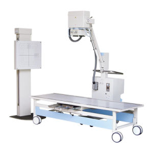 Móvil de alta frecuencia máquina de rayos X (2,5 KW, 50mA).