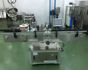 Mzh-L Automatic Round Bottle Sticker Labeling Machine