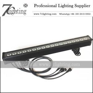 RGBW lineal LED bañador de pared 18 píxel de la barra de LED de control