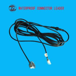 防水の電気小型ジャックプラグ2から5 Pin