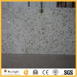Künstlicher beige/gelber Quarz-Stein für KücheCountertop