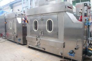 Fitas de cetim de tingimento e acabamento contínuo Fabricante da Máquina