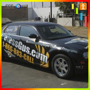 Custom виниловые наклейки с логотипом автомобиля для рекламы (TJ-14)