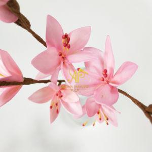 ハンドメイドの28cm H佐倉の枝花束の木のリード拡散器の装飾的な人工花