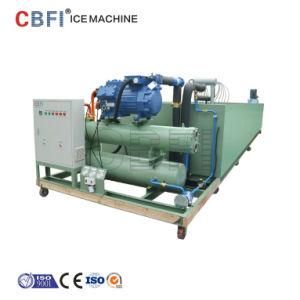 5-30 toneladas industriales de congelación rápida de bloque de la salmuera la máquina de hielo