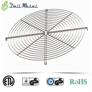 Galvanizado recubierto de PVC Chrome axiales de alambre soldado/Escape protector de la rejilla del ventilador Industrial