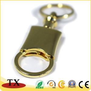 Drucken-Firmenzeichen kundenspezifischer Vierecks-Metalschlüssel-Halter