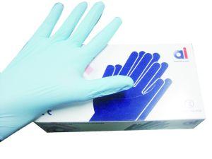 Guantes de trabajo disponibles del vinilo de la examinación del polvo libremente