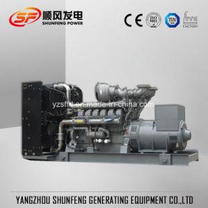 Open Diesel van de Macht van het Type 600kVA 480kw Elektro het UK Perkins Generator