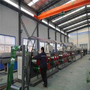 Китай с высокой скоростью двойной выход пластиковые упаковки ПЭТ планки ремня /Strapping Band профиль машины / бумагоделательной машины с конкурентоспособной цене