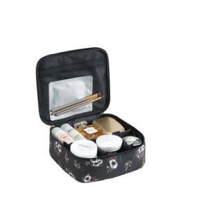 Grand cas des cosmétiques maquillage mode Voyage Sac de Toilette avec fermeture à glissière
