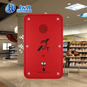 Общественной Hearing-Aid телефон IP67 для использования вне помещений громкой связи в чрезвычайных ситуациях, Sos Справки по телефону