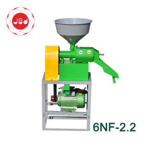 6NF-2.2シンプルな設計300kg/Hのコンバインの米製造所機械価格フィリピン