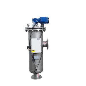 SS304/316 che alloggia il filtro automatico da auto pulizia per il trattamento delle acque industriale