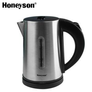 Produits d'hospitalité chaude Honeyson 304 acier inoxydable bouilloire électrique bac défini