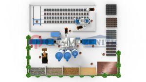 De volledig Automatische Concrete Machine van het Blok voor Verkoop