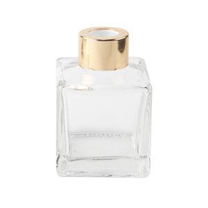 quadratische Glasreedflasche des diffuser- (Zerstäuber)50ml