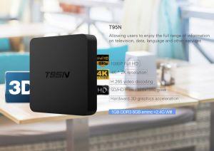 Intelligenter Fernsehapparat-Kasten T95 N MiniMx+ S905X 1GB RAM/8GB ROM-androider Fernsehapparat-Kasten Kodi lud voll, Support 4K HD, WiFi