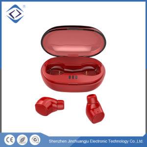 携帯電話V5.0 Bluetoothの本当の無線ステレオのイヤホーンのヘッドセット