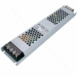 driver ultra sottile SMPS, CC SMPS di corrente continua Del classico LED di 200W 12V di CA a una uscita del trasformatore del driver di Lightbox LED