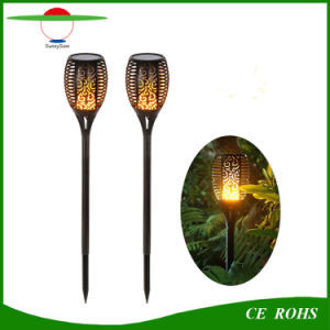 96LEDs Outdoor Decorative Landscape Light Solar Flame Light