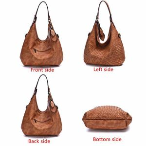 handbag Ladies Handbags Women 숙녀 부대 끈달린 가방 쇼핑 백 디자이너 핸드백 밀짚 부대 복사 부대 도매 형식 핸드백 가죽 가방 (WDL014577)