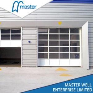 商業頑丈な卸し売りモーターを備えられたアルミニウムガラスガレージのドア