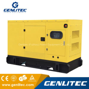 Dieselgenerator Cummins-30kw mit schalldichtem Kabinendach