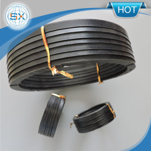 Venda quente NBR Vee Conjunto de embalagem para Haste Hidráulico Junta Compacto
