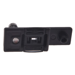 棒をロックするHopo 14mmの調節可能で黒いドア
