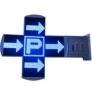 80x80cm Outdoor étanche Croix pleine couleur Affichage LED de la pharmacie