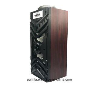 3Dステレオの環境の組み込みの再充電可能なリチウム電池の木のBluetooth USB補助TFのスピーカー
