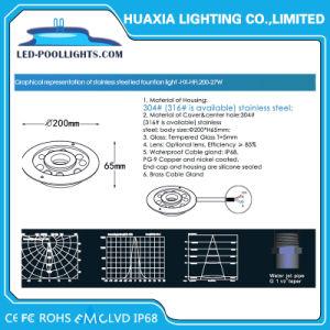 噴水のための多彩なRGB LED 9W 27W LED水中ライト