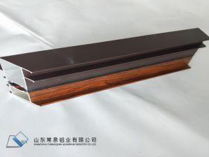 Hölzerne Farben-Aluminiumfenster-/Tür-Profil mit Beschichtung