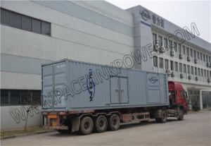 il MTU 750kVA~3000kVA ha alimentato l'insieme di generazione diesel insonorizzato con Ce/ISO