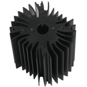 Kleur die Radiateur Engels Aluminium Heatsink voor Elektronische Consument anodiseren