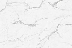 Carrara poetste Verglaasde Porselein & Ceramiektegel voor Muur en Vloer op