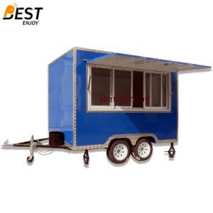 カスタマイズされた300X210cmの多彩な正方形の食糧トラックの移動式食糧キオスク