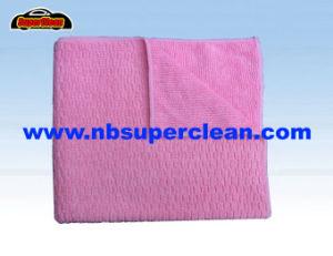 Chiffon de nettoyage en microfibre personnalisé (CN3641)