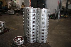 大理石の平板の磨く機械ヘッド
